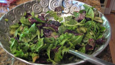 Tessa's Blackberry Avocado Salad with Kiwi Dressing