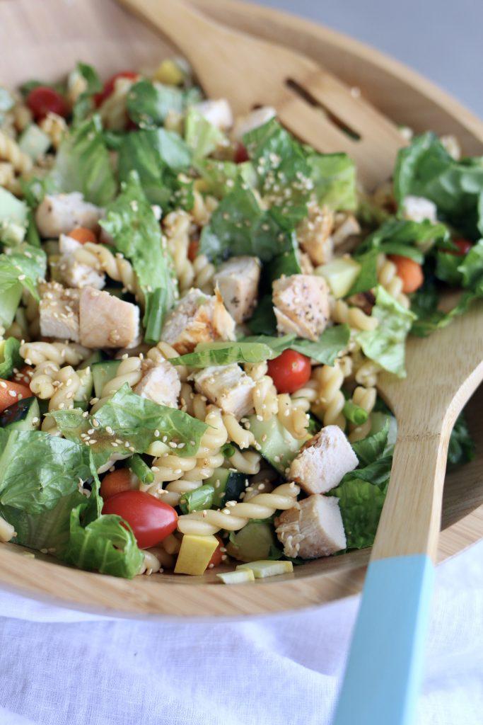 Teriyaki Pasta Salad