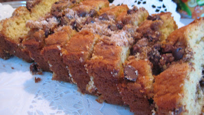 Chocolate Streusel Loaf