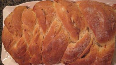 Braided Cheese-Onion Bread