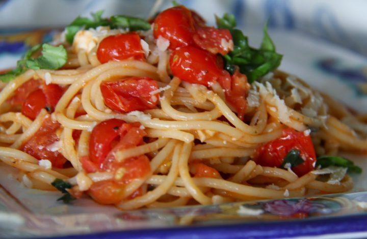 Spaghetti Margherita