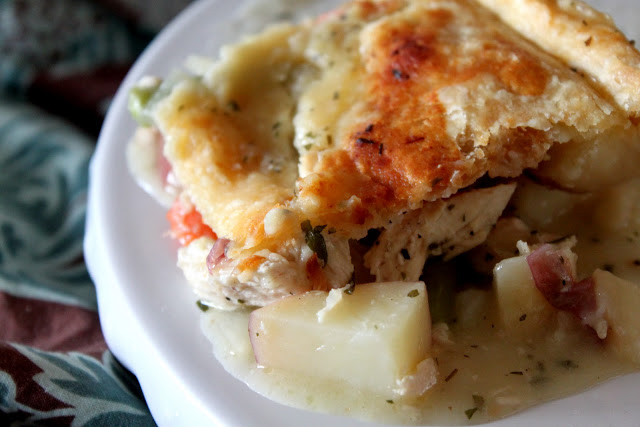 Oh My-Chicken Pot Pie