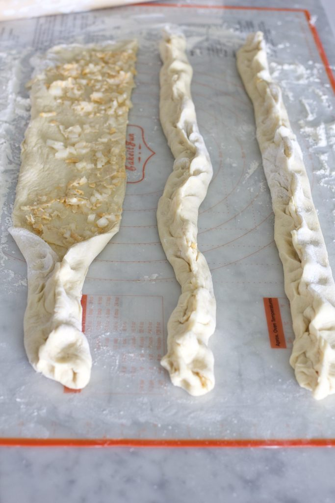 Braided Cheese-Onion Bread