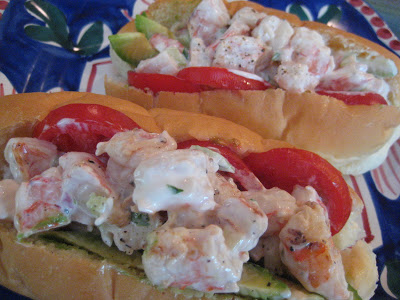 Grilled Shrimp Louie Sakoda Sandwiches