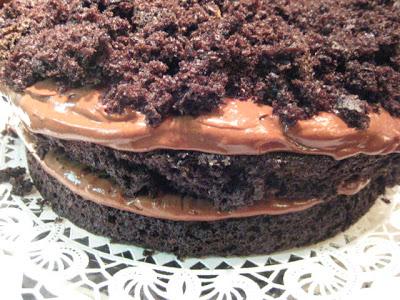 Utah-TCU Blackout Cake