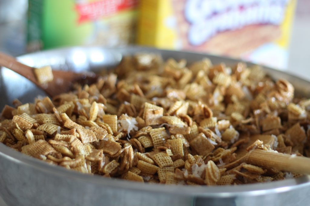 Erma's Chex Mix treat
