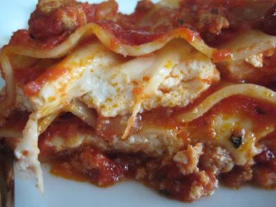 Sweet Sausage Lasagne