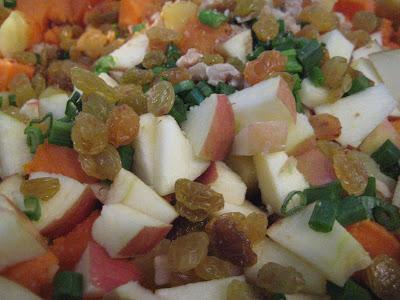 Sweet Potato Salad with Orange Maple Dressing