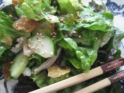 Michelle King's Wonton Salad