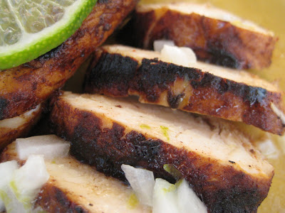 Texas Grilled Chicken with Lime Butter
