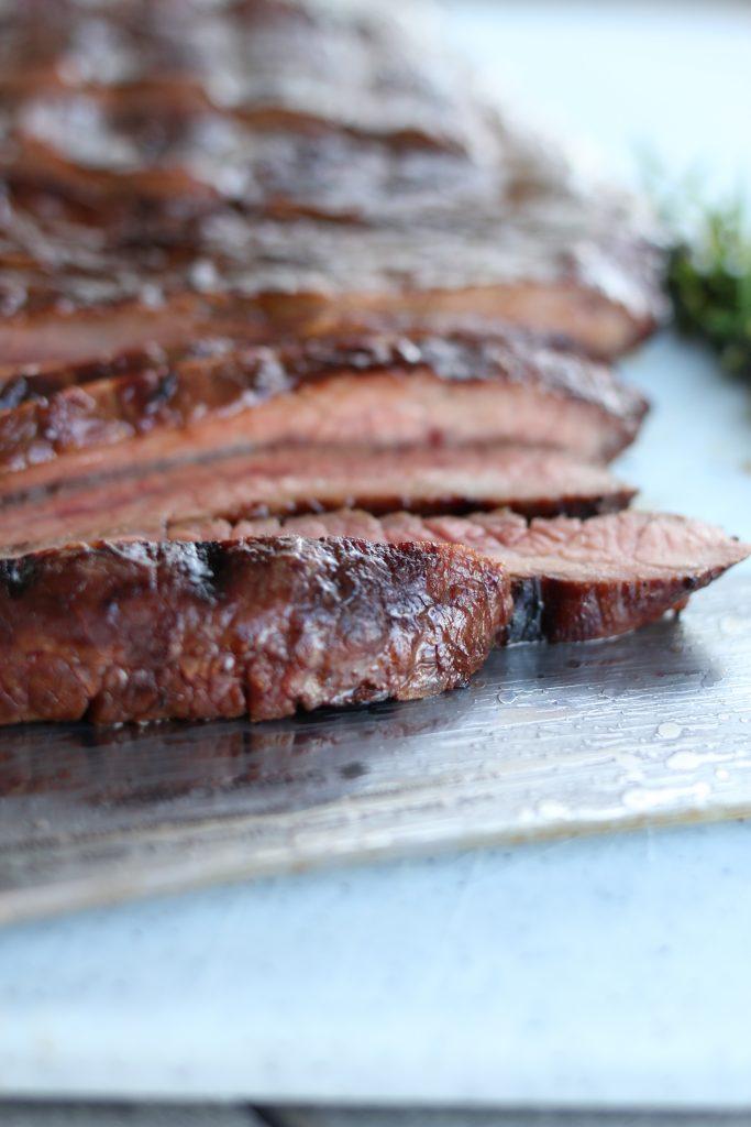 Pacific Rim Glazed Flank Steak