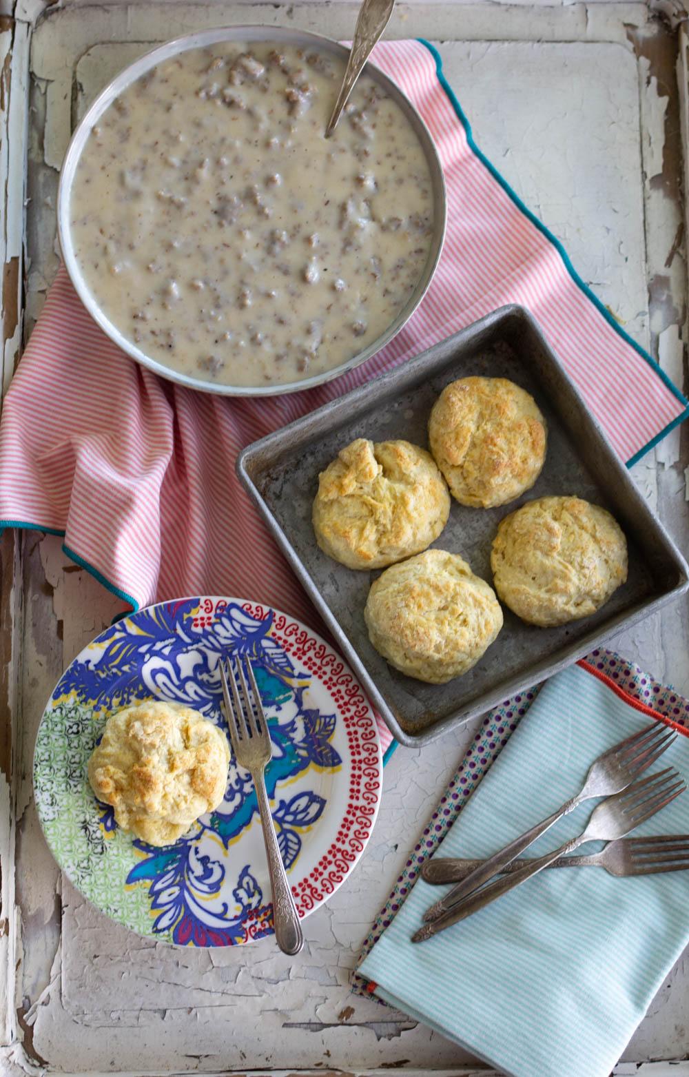 best biscuits and gravy recipe