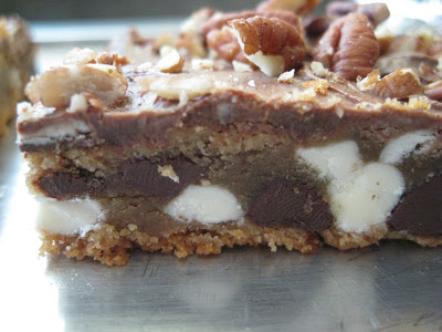 Peanut Butter Mississippi Mud Bars