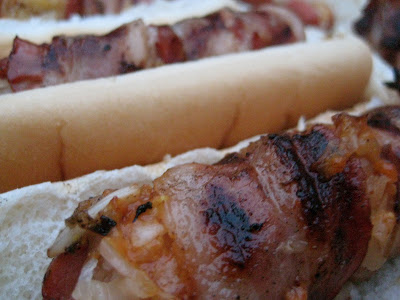 Take Me Out to the Ball Game- Bacon Wrapped Dogs