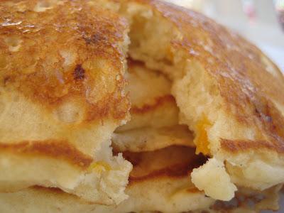 Apricot Almond Hotcakes