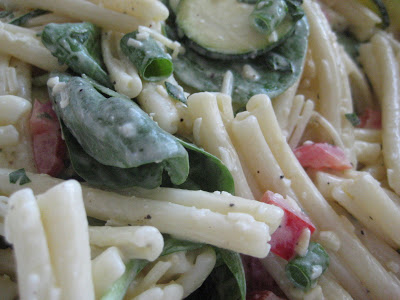 Garden Fresh Pasta Salad with Creamy Mustard Vinaigrette