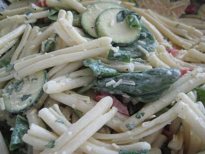 Garden Fresh Pasta Salad with Creamy Mustard Vinaigrette