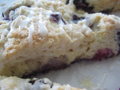 Martha's Blueberry Buttermilk Scones