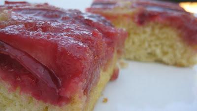 Amy's Bakery Plum Upside Down Cake