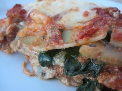 Sheri's Pesto Veggie Lasagna