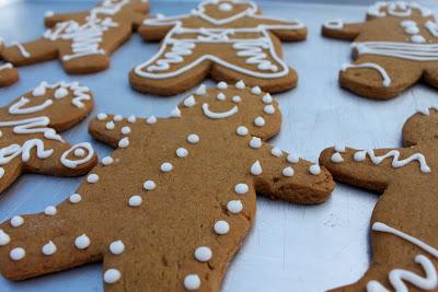 Lemon Gingerbread Cookies