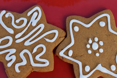 Lemon Gingerbread Cookies