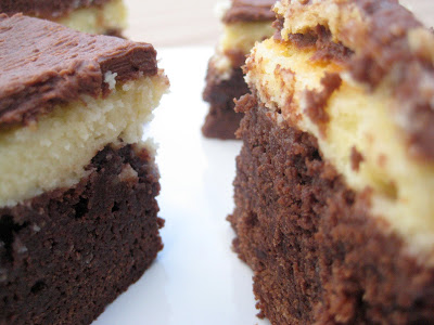 Black Bottom Brownies