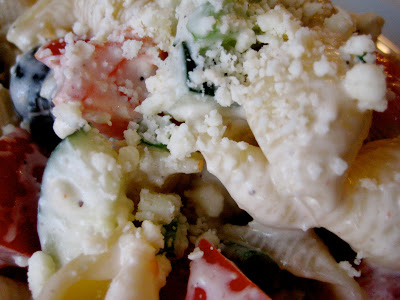 Sheri's Greek Pasta Salad
