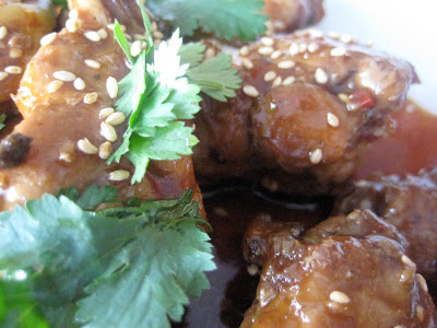 Sweet and Spicy Asian Hot Wings