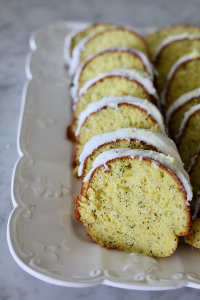 Simple Lemon Almond Poppy Seed Cake