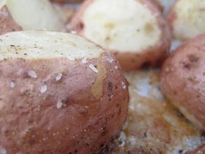 Parmesan Baked Potatoes