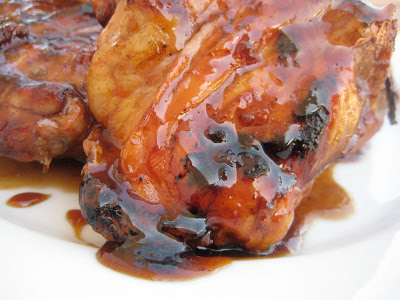 Mother's Day Menu 2010 -Part 5- Sweet and Sticky Grilled Chicken