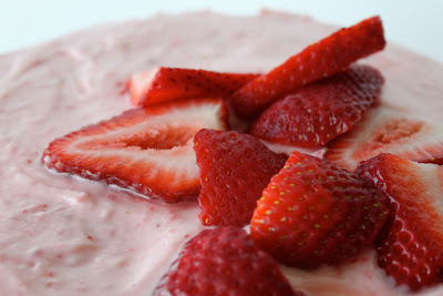 Brookie's Fresh Strawberry Birthday Cake