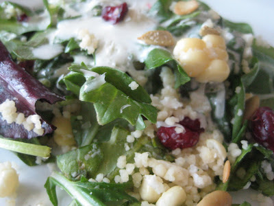 Erin and Misty's Basil Couscous Salad