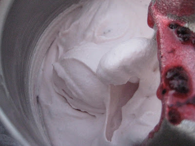 Fresh Blackberry Ice Cream