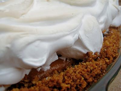 Sweet Potato Pie with Ginger Pecan Crust