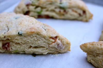Cheddar, Bacon and Chive Scones