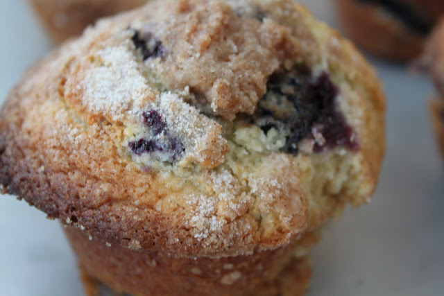Basic Fruit Muffins with Streusel Topping