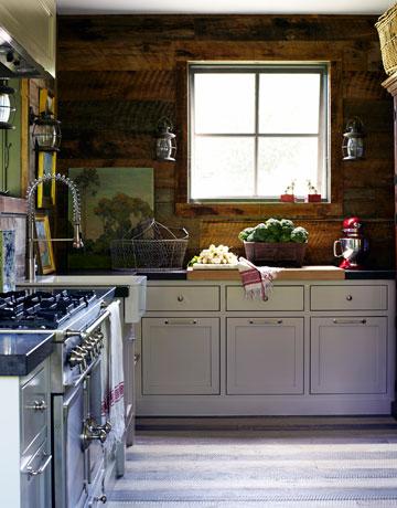 House Beautiful Country Barn Kitchen