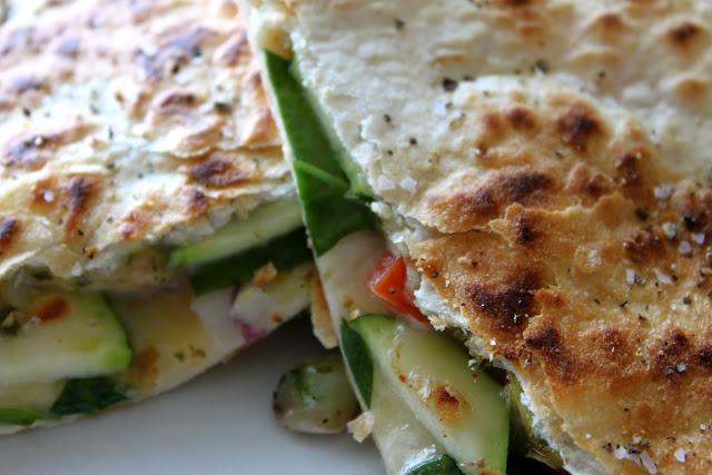 Veggie Lover's Quesadilla
