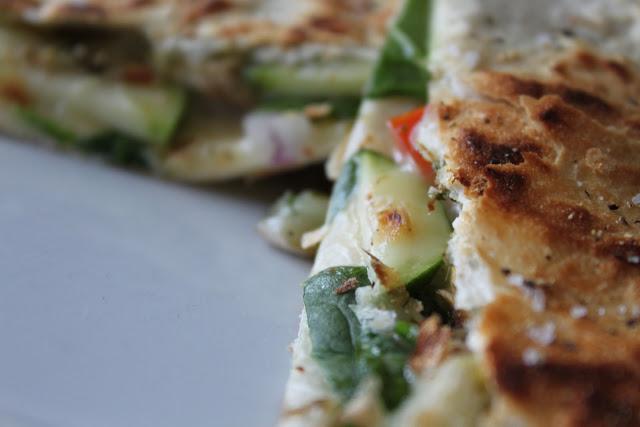Veggie Lover's Quesadilla