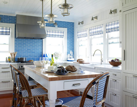 Want To See Some Beautiful, Colorful Kitchens?As Seen In HouseBeautiful.com