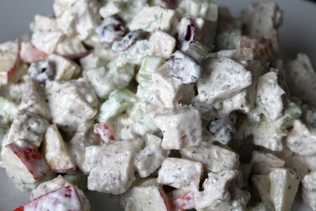 Chicken Salad with Apples and Dill