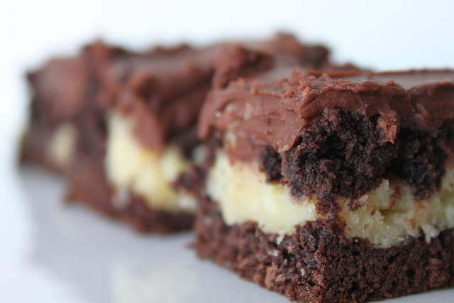 Super Simple Cream Cheese Brownies
