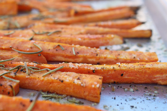Baked, Spiced Sweet Potato Fries