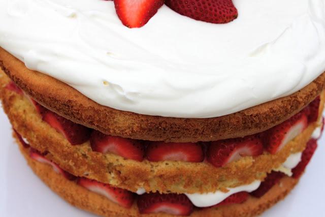 Cook's Illustrated Strawberry Cream Cake