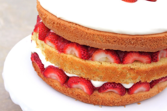 Cook's Illustrated Strawberry Cream Cake