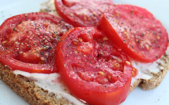 Goodbye Summer Fresh Tomato Toast