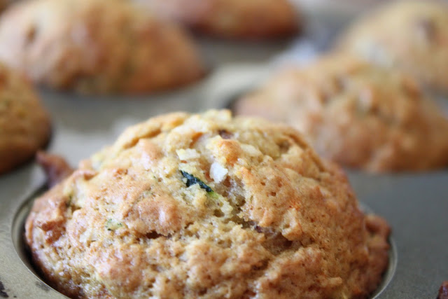 Amy's Bakery Zucchini, Carrot and Apple Muffins