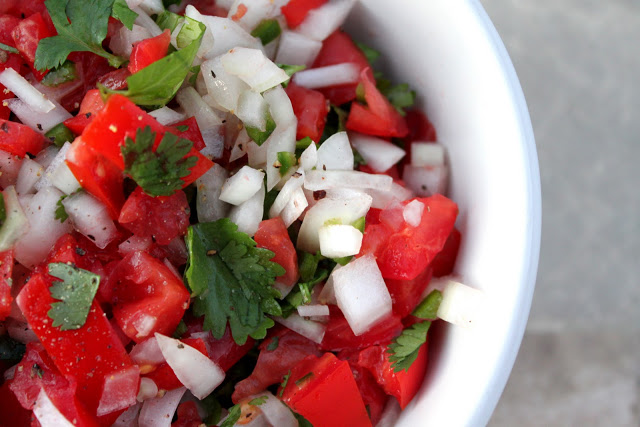 Pico de gallo a bountiful kitchen final installment of our cafe rio stylerecipes why is this called pico de gallo in spanish pico means spicy or beak and gallo means rooster forumfinder Images